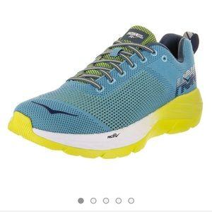 Hoka One One Mach Mens Blue Running Sneakers 10.5
